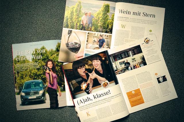 Bilder für Mercedes-Benz-Niederlassungsmagazine in Dresden, Stuttgart & Leipzig im Sommer 2012.