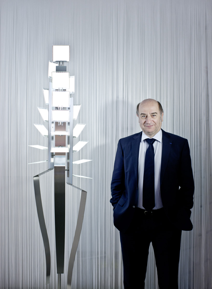 Gildas Sorin, CEO der Novaled AG, im Februar 2011 in Dresden