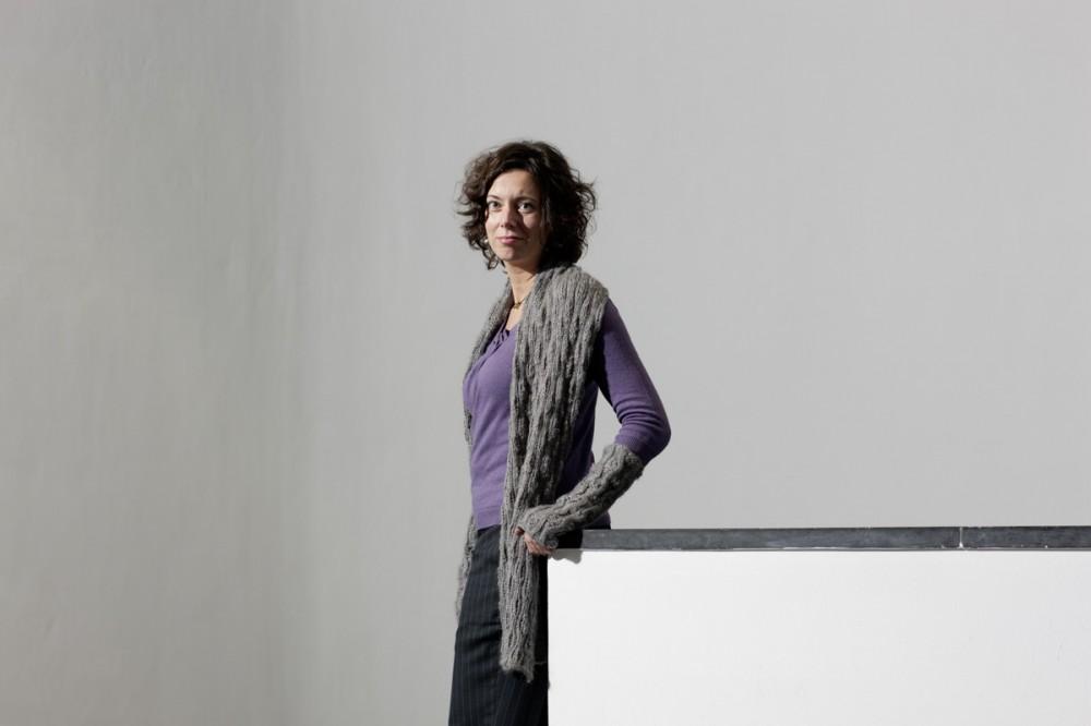 Schriftstellerin Eva Menasse im September 2010 in Dresden