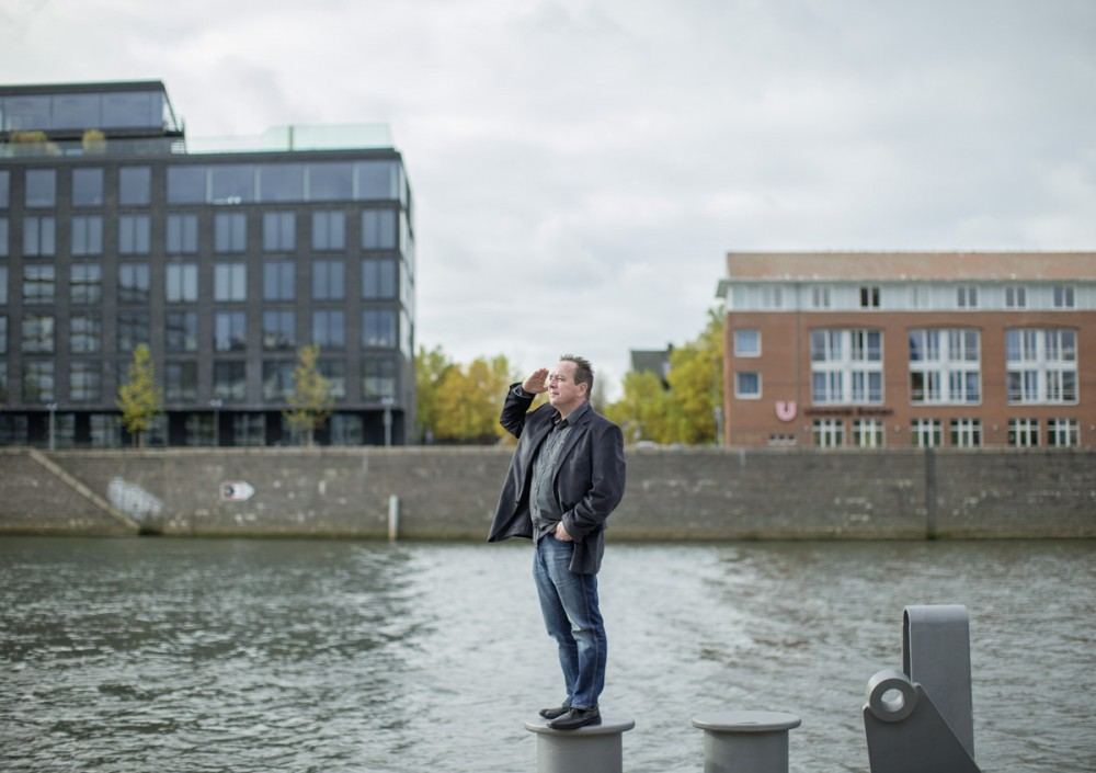 Thomas Wessels von der Brunel GmbH im Herbst 2012 in Bremen
