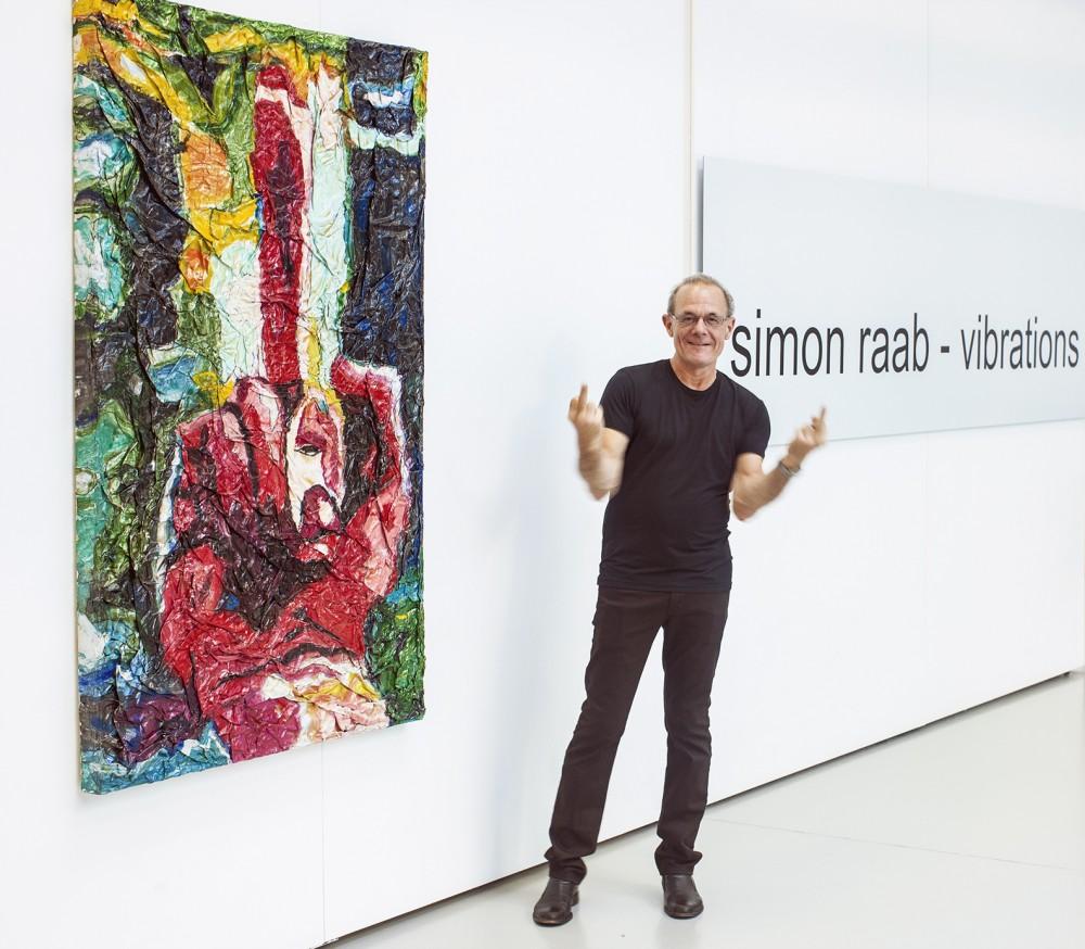 Simon Raab im Art Hotel
