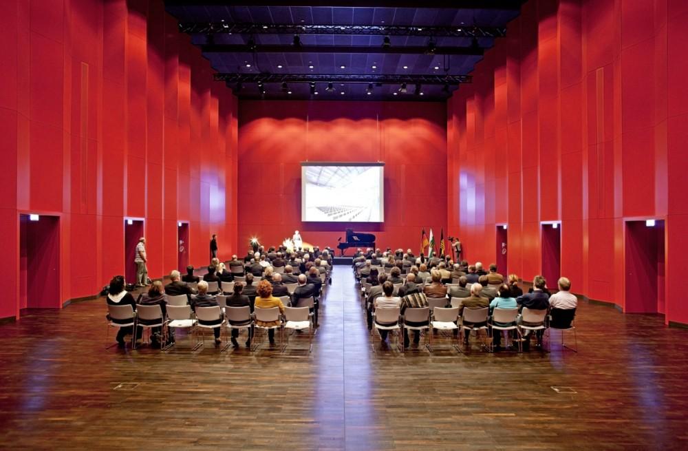 Der Festsaal des Deutschen Hygiene-Museums am 04.10.2010 in Dresden.
