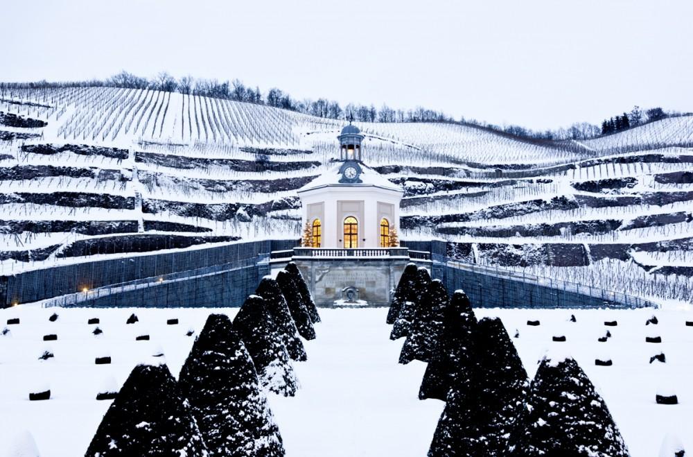 Wackerbarth im Schnee