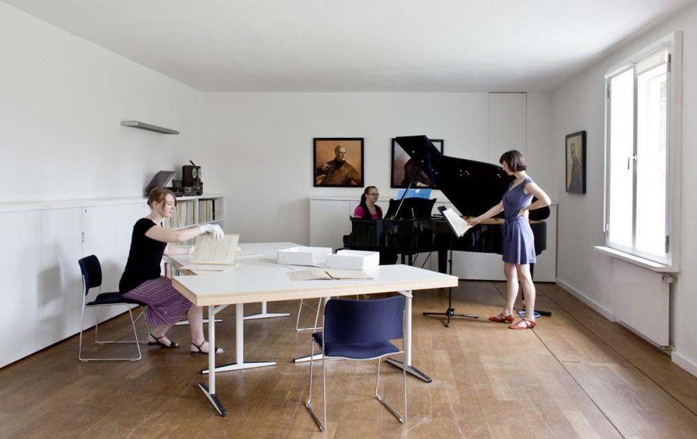 Das Deutsche Komponistenarchiv im Europäischen Zentrum der Künste am 10.06.2010 in Dresden