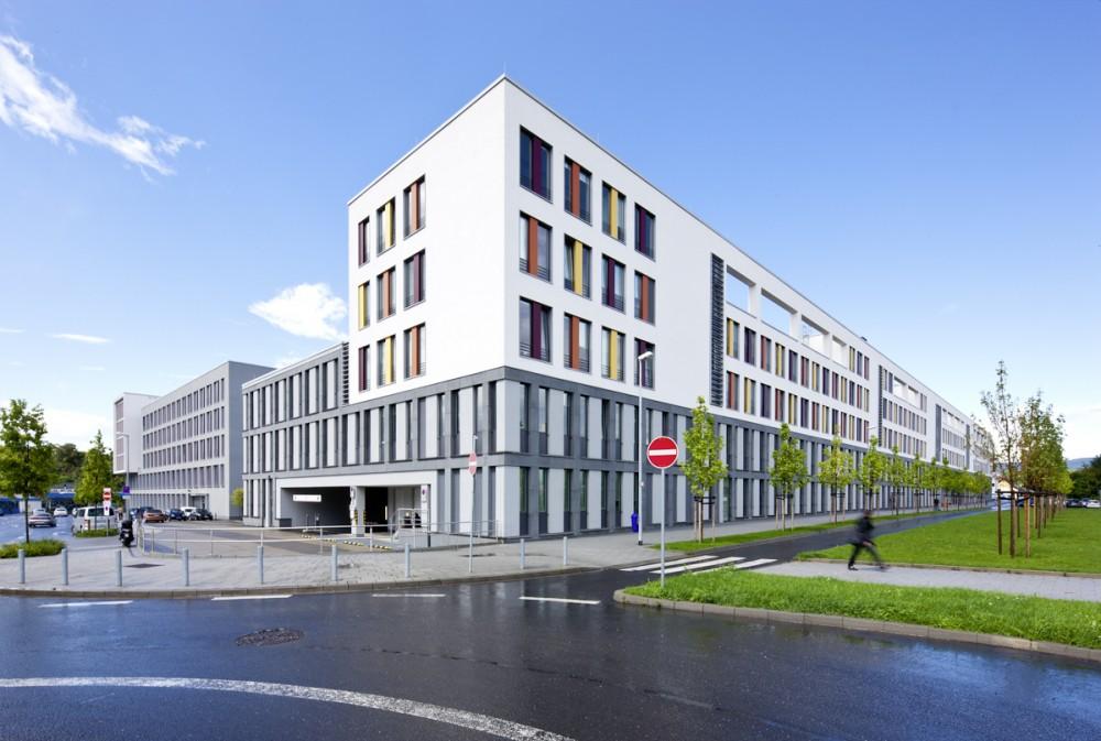 Das Gesundheitsamt Wiesbaden am 08.08.2011.