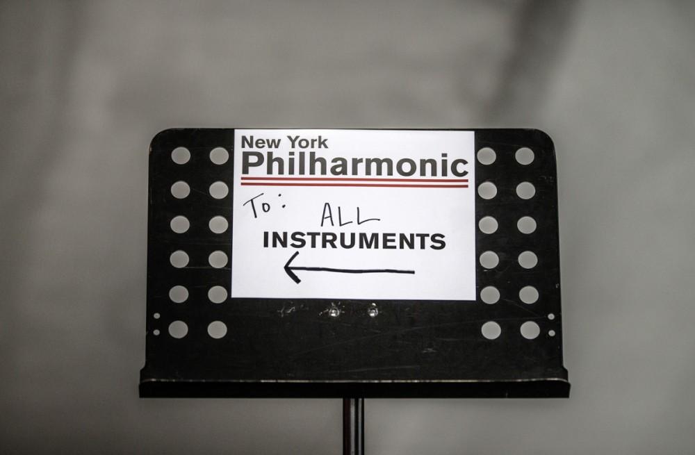 New York Philharmonic proben in der GMD