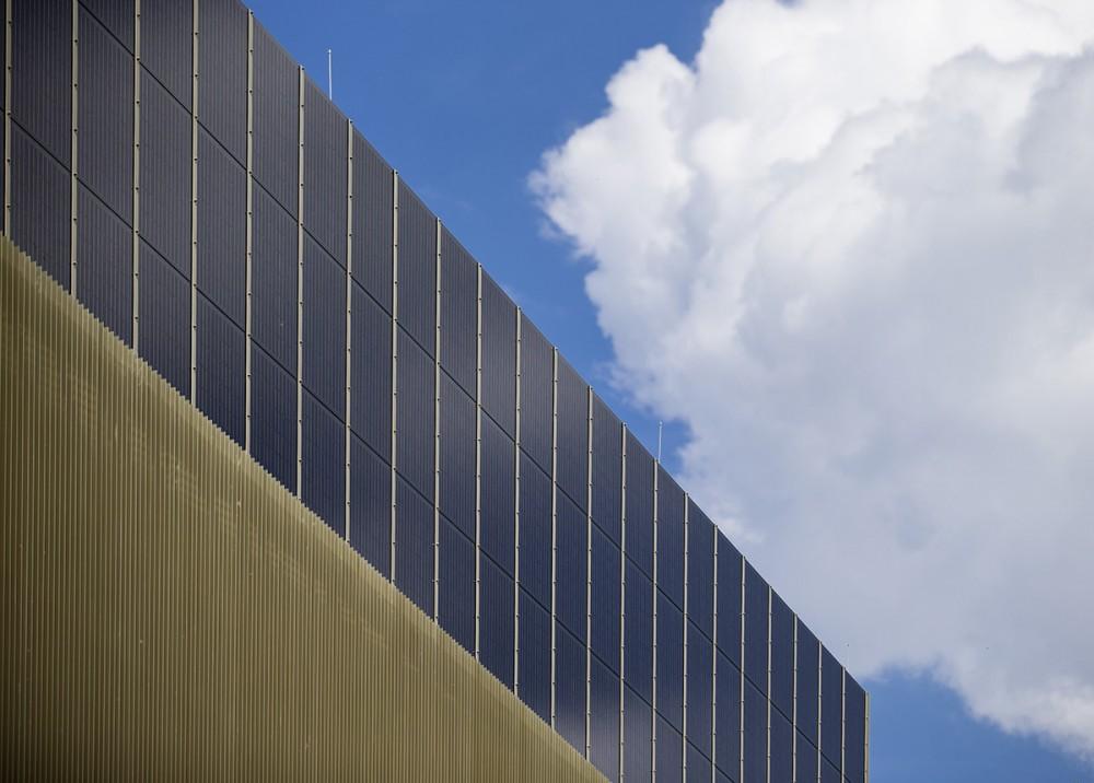 Das Zentrum für Energietechnik ( ZET ) der Technischen Universität Dresden im Juli 2014.