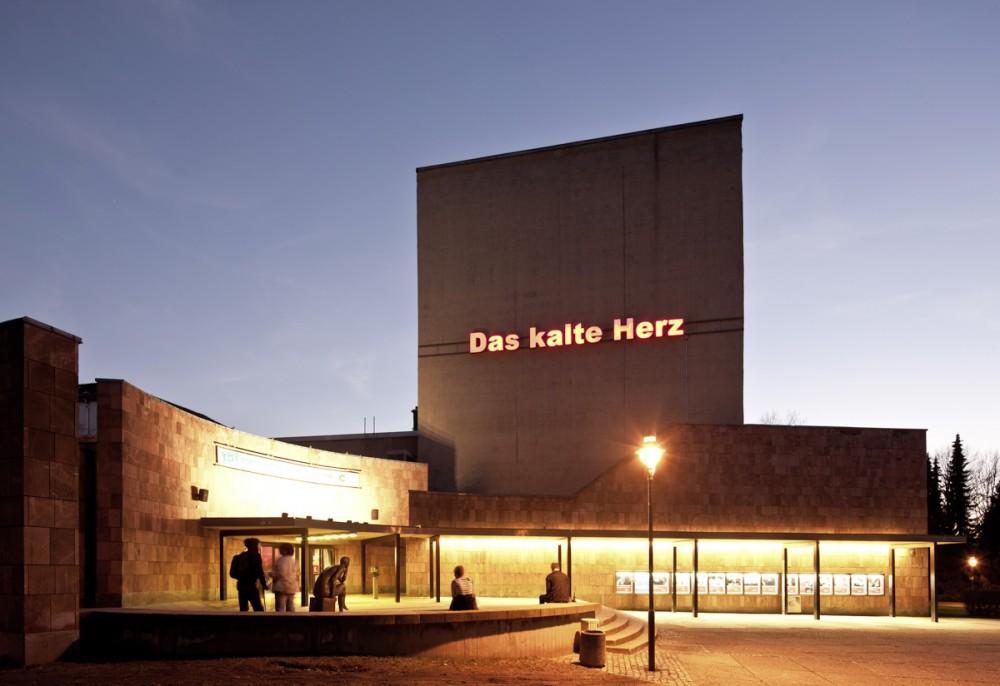Das Schauspielhaus Chemnitz am 16.03.2012.