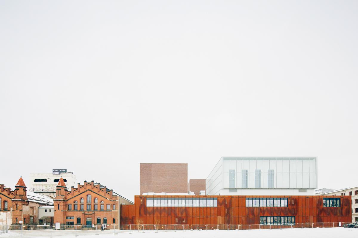 Kulturkraftwerk Mitte im Winter